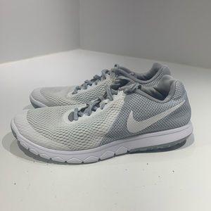 Nike Flex Experience RN White/Grey Running Sneaker
